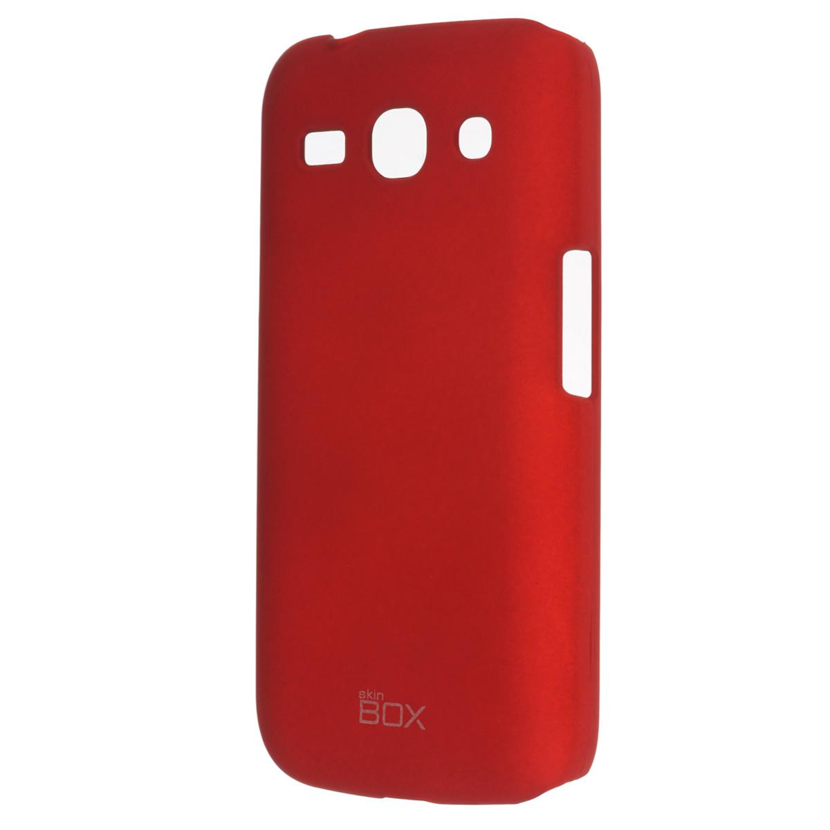 Skinbox Shield 4People чехол для Samsung SM-G350E Galaxy Star Advance, RedT-S-SG350-002Чехол Skinbox Shield 4People для Samsung SM-G350E Galaxy Star Advance предназначен для защиты корпуса смартфона от механических повреждений и царапин в процессе эксплуатации. Имеется свободный доступ ко всем разъемам и кнопкам устройства. В комплект также входит защитная пленка на экран телефона.