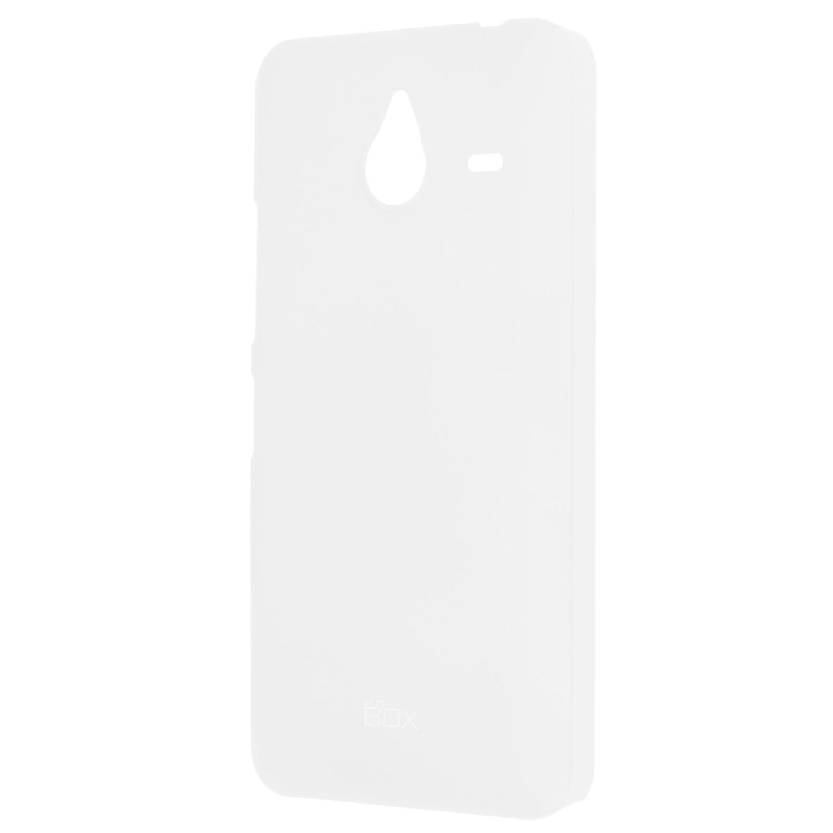 Skinbox Shield 4People чехол для Microsoft Lumia 640XL, WhiteT-S-ML640XL-002Накладка Skinbox Shield 4People для Microsoft Lumia 640XL - отличный аксессуар для защиты корпуса вашего смартфона от внешних повреждений, сохраняющий размеры устройства и обеспечивающий удобство работы с ним. Устойчивый к истиранию пластик надежно амортизирует мелкие механические воздействия и предотвращает появление царапин или потертостей на корпусе вашего гаджета. В комплект также входит защитная пленка для экрана смартфона.