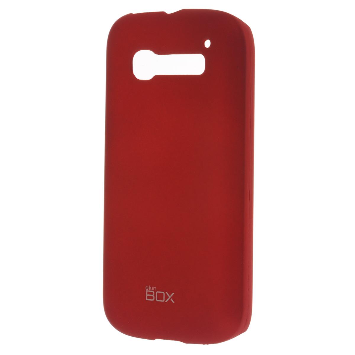 Skinbox Shield 4People чехол для Alcatel 5036D С5, RedT-S-A5036D-002Чехол Skinbox Shield 4People для Alcatel One Touch Pop C5 предназначен для защиты корпуса смартфона от механических повреждений и царапин в процессе эксплуатации. Имеется свободный доступ ко всем разъемам и кнопкам устройства. В комплект также входит защитная пленка на экран телефона.