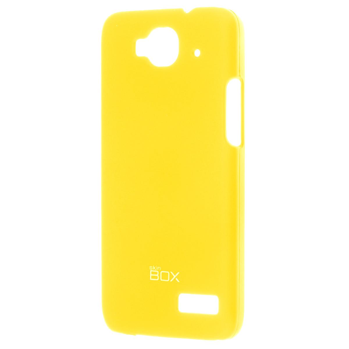 Skinbox Shield 4People чехол для Alcatel 6012D Idol Mini, YellowT-S-A6012D-002Накладка Skinbox Shield 4People для Alcatel 6012D Idol Mini - отличный аксессуар для защиты корпуса вашего смартфона от внешних повреждений, сохраняющий размеры устройства и обеспечивающий удобство работы с ним. Устойчивый к истиранию пластик надежно амортизирует мелкие механические воздействия и предотвращает появление царапин или потертостей на корпусе вашего гаджета. В комплект также входит защитная пленка для экрана смартфона.