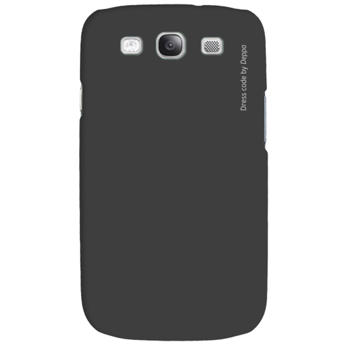 Deppa Air Case чехол для Samsung Galaxy SIII, Black83022Чехол Deppa Air Case для Samsung Galaxy SIII предназначен для защиты корпуса смартфона от механических повреждений и царапин в процессе эксплуатации. Имеется свободный доступ ко всем разъемам и кнопкам устройства. Чехол изготовлен из поликарбоната Teijin производства Японии с покрытием Soft touch.