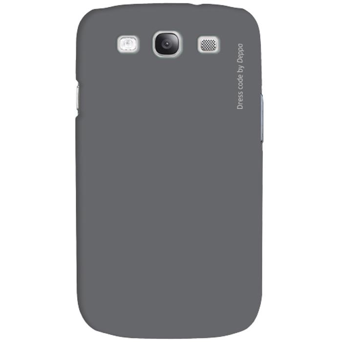 Deppa Air Case чехол для Samsung Galaxy SIII, Grey83112Чехол Deppa Air Case для Samsung Galaxy SIII предназначен для защиты корпуса смартфона от механических повреждений и царапин в процессе эксплуатации. Имеется свободный доступ ко всем разъемам и кнопкам устройства. Чехол изготовлен из поликарбоната Teijin производства Японии с покрытием Soft touch.