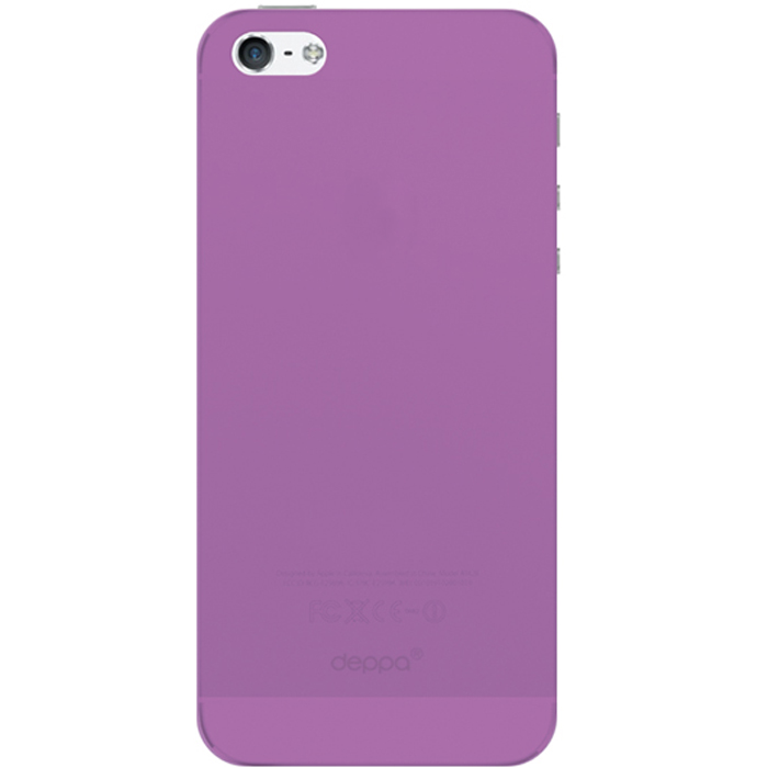 все цены на Deppa Sky Case чехол для Apple iPhone 5/5s, Purple онлайн