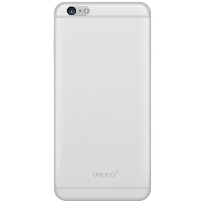 Deppa Sky Case чехол для Apple iPhone 6, Clear86012Чехол Deppa Sky Case для iPhone 6 предназначен для защиты корпуса смартфона от механических повреждений и царапин в процессе эксплуатации. Имеется свободный доступ ко всем разъемам и кнопкам устройства. Чехол изготовлен из полипропилена и имеет толщину 0,4 мм.