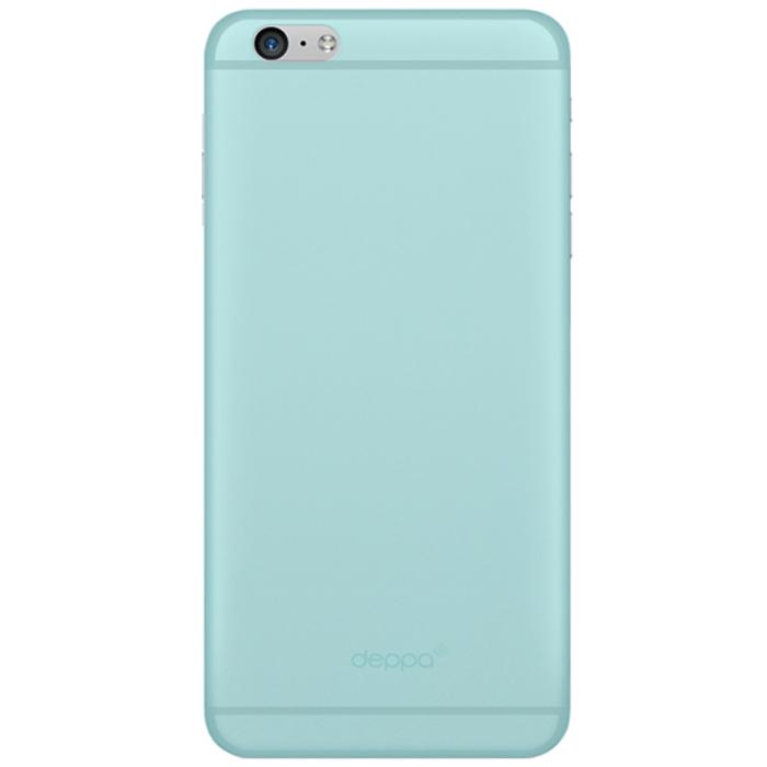 Deppa Sky Case чехол для Apple iPhone 6, Mint86017Чехол Deppa Sky Case для iPhone 6 предназначен для защиты корпуса смартфона от механических повреждений и царапин в процессе эксплуатации. Имеется свободный доступ ко всем разъемам и кнопкам устройства. Чехол изготовлен из полипропилена и имеет толщину 0,4 мм.