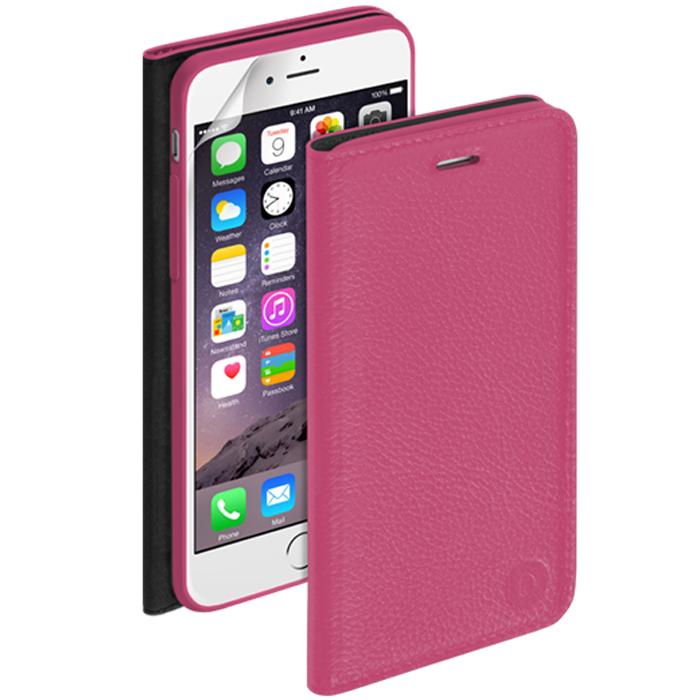 Deppa Wallet Cover чехол для Apple iPhone 6, Fuchsia84065Чехол Deppa Wallet Cover для iPhone 6 предназначен для защиты корпуса смартфона от механических повреждений и царапин в процессе эксплуатации. Имеется свободный доступ ко всем разъемам и кнопкам устройства. В комплект также входит защитная пленка из трехслойного японского материала PET.