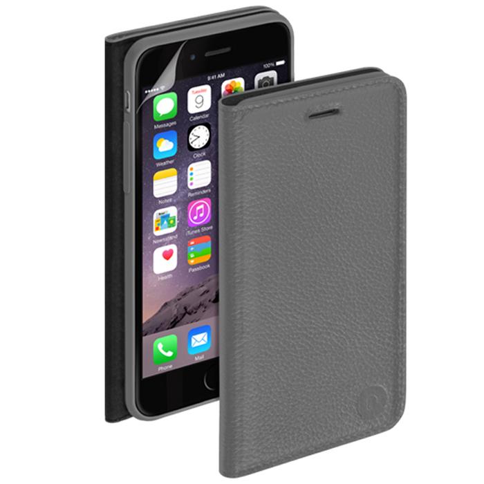 Deppa Wallet Cover чехол для Apple iPhone 6, Gray84064Чехол Deppa Wallet Cover для iPhone 6 предназначен для защиты корпуса смартфона от механических повреждений и царапин в процессе эксплуатации. Имеется свободный доступ ко всем разъемам и кнопкам устройства. В комплект также входит защитная пленка из трехслойного японского материала PET.