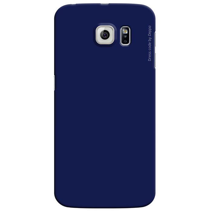 Deppa Air Case чехол для Samsung Galaxy S6 Edge, Blue deppa для samsung galaxy s6 edge глянцевая