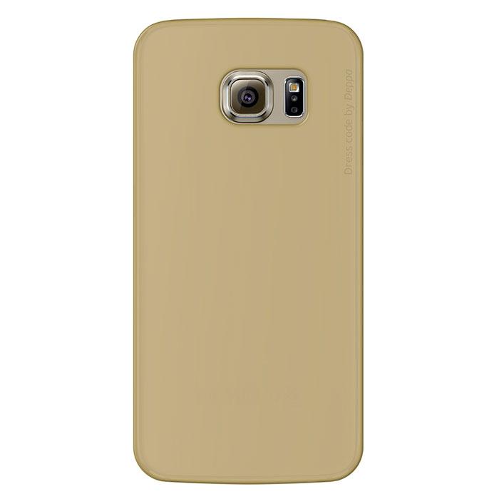 Deppa Sky Case чехол для Samsung Galaxy S6 Edge, Gold86042Чехол Deppa Sky Case для Samsung Galaxy S6 Edge предназначен для защиты корпуса смартфона от механических повреждений и царапин в процессе эксплуатации. Имеется свободный доступ ко всем разъемам и кнопкам устройства. Чехол изготовлен из полипропилена и имеет толщину 0,4 мм.
