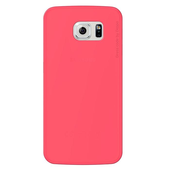 Deppa Sky Case чехол для Samsung Galaxy S6, Coral - Чехлы