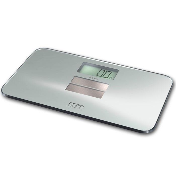 CASO Body Solar весы напольныеSolarwaageСверхточные солнечные весы CASO Body Solar со стеклянной платформой идеально подойдут для ваших взвешиваний. Весы CASO Body Solar питаются от солнечной энергии поэтому нету нужды в замене элементов питания. Позаботьтесь о вашем здоровье, немецкие весы станут вашим незаменимым помощником по уходу за собой.
