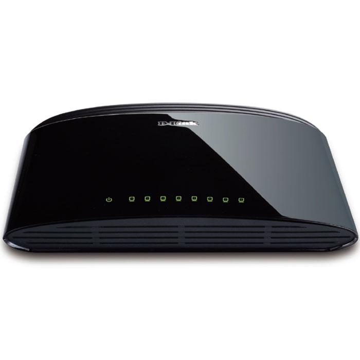 D-Link DES-1008D/RU коммутаторDES-1008D/RUКоммутатор оснащен 8 портами 10/100 Мбит/с, позволяющими небольшой рабочей группе легко подключаться к уже имеющимся сетям Ethernet и Fast Ethernet. Это возможно благодаря свойству портов автоматически определять сетевую скорость и работать по стандартам 10BASE-T и 100BASE-TX, а также в режиме передачи полу-/полный дуплекс. Автоматическое определение MDI/MDIX:Все порты поддерживают автоматическое определение полярности MDI/MDIX. Это исключает необходимость использования кроссированных кабелей или портов uplink. Любой порт можно подключить к серверу, концентратору, маршрутизатору или коммутатору, используя «прямой» Ethernet-кабель на основе витой пары. Управление потоком:Все порты поддерживают управление потоком 802.3x. Эта функция позволяет предотвратить потерю пакетов посредством передачи сигнала о возможном переполнении буфера. Приостановка передачи пакетов продолжается до тех пор, пока порт не будет готов принимать новые данные. Это обеспечивает надежное соединение всех подключенных устройств.Недорогое решение Fast Ethernet для домашних сетей и сетей SOHO Автоматическое определение MDI/MDIX на всех портах Метод коммутации:Store-and-forward Коммутационная матрица до 1.6Гбит/с Ethernet: 10 Мбит/с (полудуплекс), 20 Мбит/с (полный дуплекс); Fast Ethernet: 100 Мбит/с (полудуплекс), 200 Мбит/с (полный дуплекс) Управление потоком IEEE 802.3x Функция Plug-and-play Соответствие директиве RoHS Буфер RAM 57K на устройство Таблица MAC-адресов 2К на устройство Скорость фильтрации/ передачи пакетов: Ethernet: 14,880 пакетов в сек. на порт/Fast Ethernet: 148,800 пакетов в сек. на порт Протокол CSMA/CDСтандарты:IEEE 802.3 10BASE-T Ethernet (медная витая пара) IEEE 802.3u 100BASE-TX Fast Ethernet (медная витая пара)ANSI/IEEE 802.3 NWay автоопределение скорости и режима работыУправление потоком IEEE 802.3х