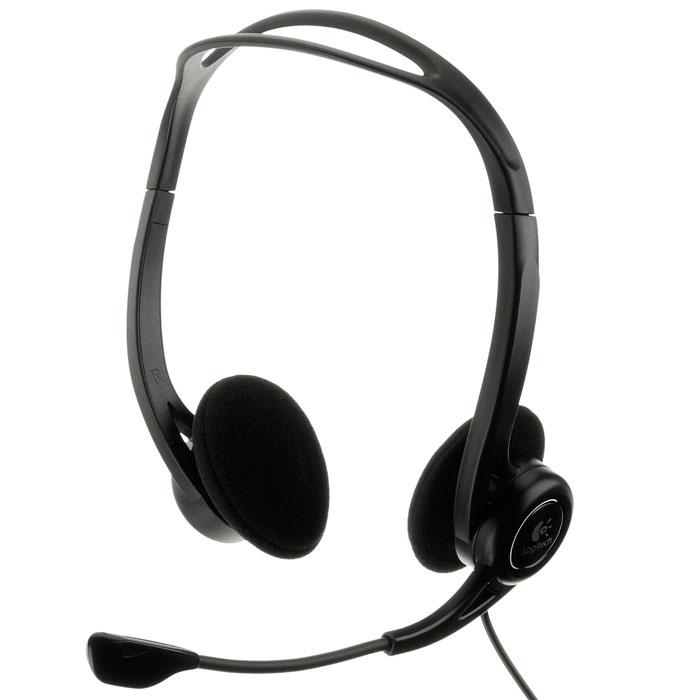 Logitech PC Headset 960 USB гарнитура (981-000100)
