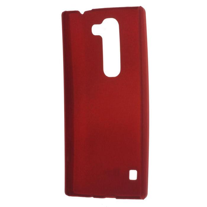 Skinbox Shield 4People чехол для LG Leon, RedT-S-LL-002Чехол - накладка Skinbox 4People дляLG Leon бережно и надежно защитит ваш смартфон от пыли, грязи, царапин и других повреждений. Чехол оставляет свободным доступ ко всем разъемам и кнопкам устройства. В комплект также входит защитная пленка на экран.