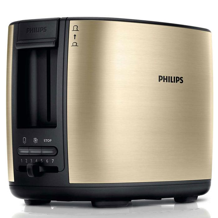 Philips HD2628/50, Cream тостерHD2628/50Тостер Philips HD2628 с отделениями регулируемой ширины для приготовления вкусных тостов. Готовьте равномерно подрумяненные до золотистой корочки тосты разной толщины. Прибор удобен в использовании и оснащен такими полезными функциями, как разморозка и подогрев. Безопасное использование благодаря специальному подъемнику, кнопке отмены и не нагревающейся внешней поверхности.Съемный поддон для крошек для простой очистки:Простая очистка благодаря съемному поддону для крошек.Корпус тостера не нагревается:Корпус тостера Philips не нагревается.Регулятор степени обжаривания:Индивидуальная настройка температурного режима для приготовления вкусных тостов.Система автоматического отключения при застревании ломтика хлеба:Тостер автоматически выключается, если ломтик хлеба застрял внутри.Разморозьте хлеб или подогрейте недавно приготовленные тосты за один прием:Кнопка разморозки на тостере позволяет размораживать и поджаривать хлеб за один прием, а кнопка подогрева — разогревать остывший хлеб или подрумянить уже поджаренный ломтик.Специальный подъемник для безопасного извлечения небольших хлебцев:Благодаря этому можно приподнять небольшие кусочки хлеба и с легкостью извлечь их, не обжигаясь.Регулируемая ширина отделений для тостов с автоцентрированием для идеального обжаривания:Отделения тостера Philips с автоцентрированием вмещают и толстые, и тонкие ломтики, гарантируя равномерное обжаривание7 различных режимов приготовления тостовНескользящие ножки
