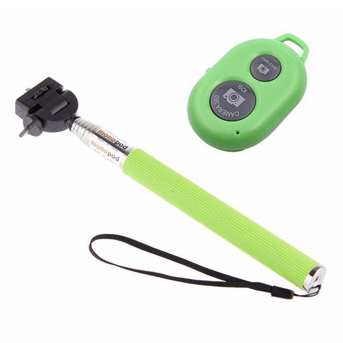 Unlim UN-0831A, Green монопод для селфи - Моноподы для селфи