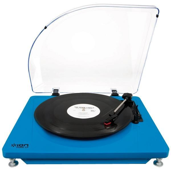 ION Audio Pure LP, Blue виниловый проигрыватель - Hi-Fi компоненты