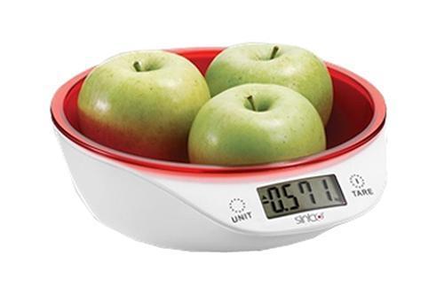 Sinbo SKS 4521, Red весы кухонные весы кухонные sinbo sks 4521