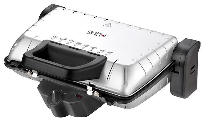 Sinbo SSM 2534, Silver электрогрильSSM 2534Благодаря Sinbo SSM 2534 вы сможете приготовить замечательные сэндвичи, не выходя из дома.