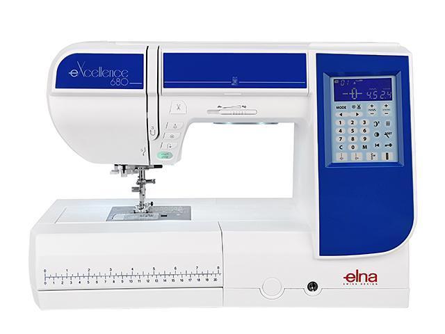 Elna eXcellence 680 швейная машина4933621706494Новинка от компании ELNA компьютерная швейная машина ELNA eXcellence 680 первая профессиональная машина по доступной цене. Качественные строчки с максимальной шириной 9 мм, большинство из которых можно комбинировать, создавая новые виды строчек. Игольная пластина имеет направительные линии в сантиметрах и дюймах, позволяющие делать безупречно ровные швы. А также напрявляющие для сшивания под углом незаменимые при работе с квилтовыми проектами. При необходимости стандартная игольная пластина заменяется на прямострочную в одно касание. 7-ступенчатый регулятор давления лапки на ткань позволяет более точно настроить машину на работу с различными тканями. Благодаря стабилизирующей пластине вы сможете выполнять идеальные петли на любом виде ткани, любой толщины. Верхний транспортер, входящий в стандартную комплектацию, поможет при работе с тяжелыми и многослойными тканями. Любители свободно-ходовой стежки по достоинству оценят набор QB-S с тремя насадками. Увеличенное рабочее пространство и расширительный столик позволяют работать с проектами любого размера, будь то лоскутное одеяло или модное пальто. Коленный рычаг освободит ваши руки для более точного контроля процесса шитья. Также при желании можно приобрести педаль для автоматической обрезки нити. ELNA eXcellence 680 – это мечта любой портнихи. Она позволит реализовать ваши творческие идеи в любом направлении, от дизайнерских изделий до квилтовых проектов