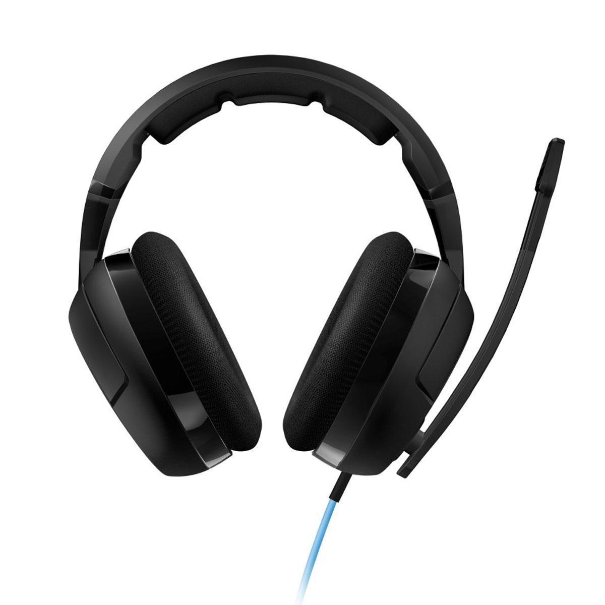 ROCCAT Kave XTD Stereo гарнитураROC-14-610Roccat Kave XTD Stereo - это игровая стерео-гарнитура премиум класса, с прочной, проверенной конструкцией и максимально качественным звуком для настоящих геймеров, которая позволяет с комфортом проходить самые продолжительные игровые миссии. Обеспечивает превосходную звукоизоляцию для четких и ясных голосовых переговоровRoccat Kave XTD Stereo имеет компактный и очень эргономичный дизайн. У гарнитуры прочная, сверхлегкая конструкция с комфортабельным эргономичным ободком и ярким кабелем. Подушечки наушников выполнены из сетчатой ткани, а с внешней стороны они стилизованны новаторским мотивом ROCCATФорма чашек Roccat Kave XTD Stereo обеспечивает полную звукоизоляцию. Гарнитура дает вам акустическое преимущество благодаря сверхчистому звучанию 50-мм неодимовых громкоговорителей в каждом наушнике, гарантируя выразительный и чистый звук в очень широком динамическом диапазоне. Вы услышите не только малейшие звуки, но и едва различимые шумы сотрясения грунта, что позволяет вам полностью насладиться своими любимыми играми и фильмамиRoccat Kave XTD Stereo оснащена шумоподавляющим съемным микрофоном поворачивающимся на 360°. Микрофон блокирует нежелательные отвлекающие факторы, благодаря легкодоступному пристегивающемуся кабельному пульту ДУ с выключателем и регулировкой громкости. Пока вы общаетесь, микрофон улавливает все ваши слова и передает их с предельной четкостью, а когда захотите послушать музыку, просто отсоедините микрофон. Стандартный разъем позволяет подключить наушники к плееру, приставке, ноутбуку или компьютеру