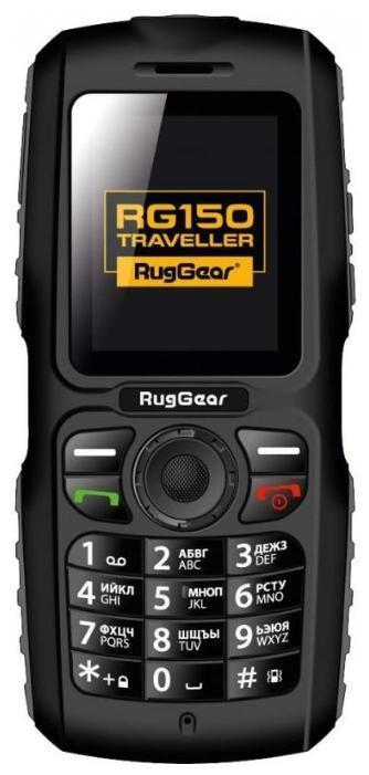 RugGear RG 150 TravellerRG150В путешествии, походе, на работе и просто в повседневном использовании этот прочный, надежный, противоударный и функциональный телефон с легкостью заменит множество других гаджетов. Мощный светодиодный фонарь (2 Вт, 100 лм) позволит найти дорогу даже в условиях полярной ночи. Сверхмощный аккумулятор в 2400 мАч выдает уникальные 25 суток в режиме ожидания, а в сочетании с USB-портом позволяет использовать телефон в качестве зарядного устройства для любых смартфонов, навигаторов, плееров и других мобильных устройств, которые вы захотите взять с собой в дорогу. Функция Bluetooth-пульта позволит перенаправить все общение на RugGear Traveller, а интерфейс Bluetooth 3.0 - использовать RG150 как сверхгромкий динамик (>90 dB). Две SIM-карты позволяют разделить личное и деловое общение или снизить расходы на связь, подключив местного сотового оператора. При этом не важно, какого размера SIM-карта - стандартная или Micro - телефон имеет слоты под оба размера. Корпус модели изготовлен из ударопрочного пластика и имеет максимальный класс защиты от воды и микрочастиц по стандарту IP-68, а также защиту от падения с высоты до 2-х метров.Телефон сертифицирован Ростест и имеет русифицированный интерфейс меню, а также Руководство пользователя.