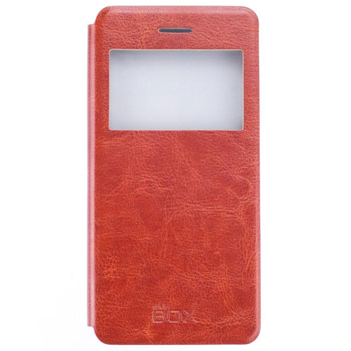 Skinbox Lux AW чехол для Lenovo S90, BrownT-S-LS90-004Skinbox Lux AW для Lenovo S90 обеспечивает надежную защиту смартфона и надежно оберегает его от механических повреждений. Чехол выполнен из искусственной кожи и высокого качества с приятной на ощупь текстурой, а форма открывает свободный доступ ко всем разъемам и элементам вашего устройства.