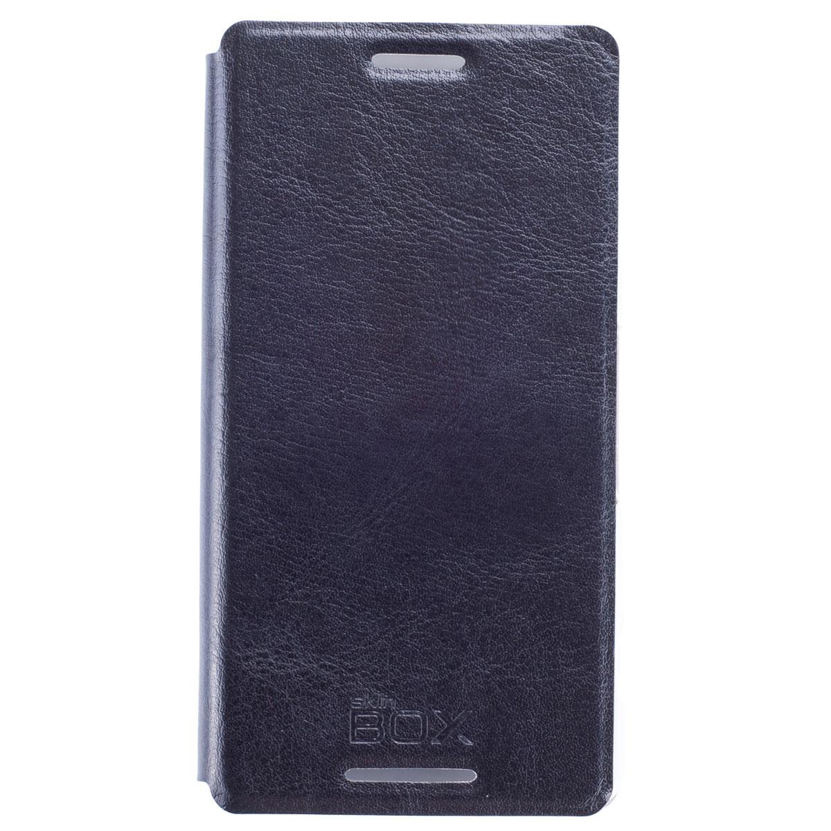 Skinbox Lux чехол для Sony Xperia Z3 Compact, BlackT-S-AXZ3C-003Чехол Skinbox Lux выполнен из высококачественного поликарбоната и экокожи. Он обеспечивает надежную защиту корпуса и экрана смартфона и надолго сохраняет его привлекательный внешний вид. Чехол также обеспечивает свободный доступ ко всем разъемам и клавишам устройства.