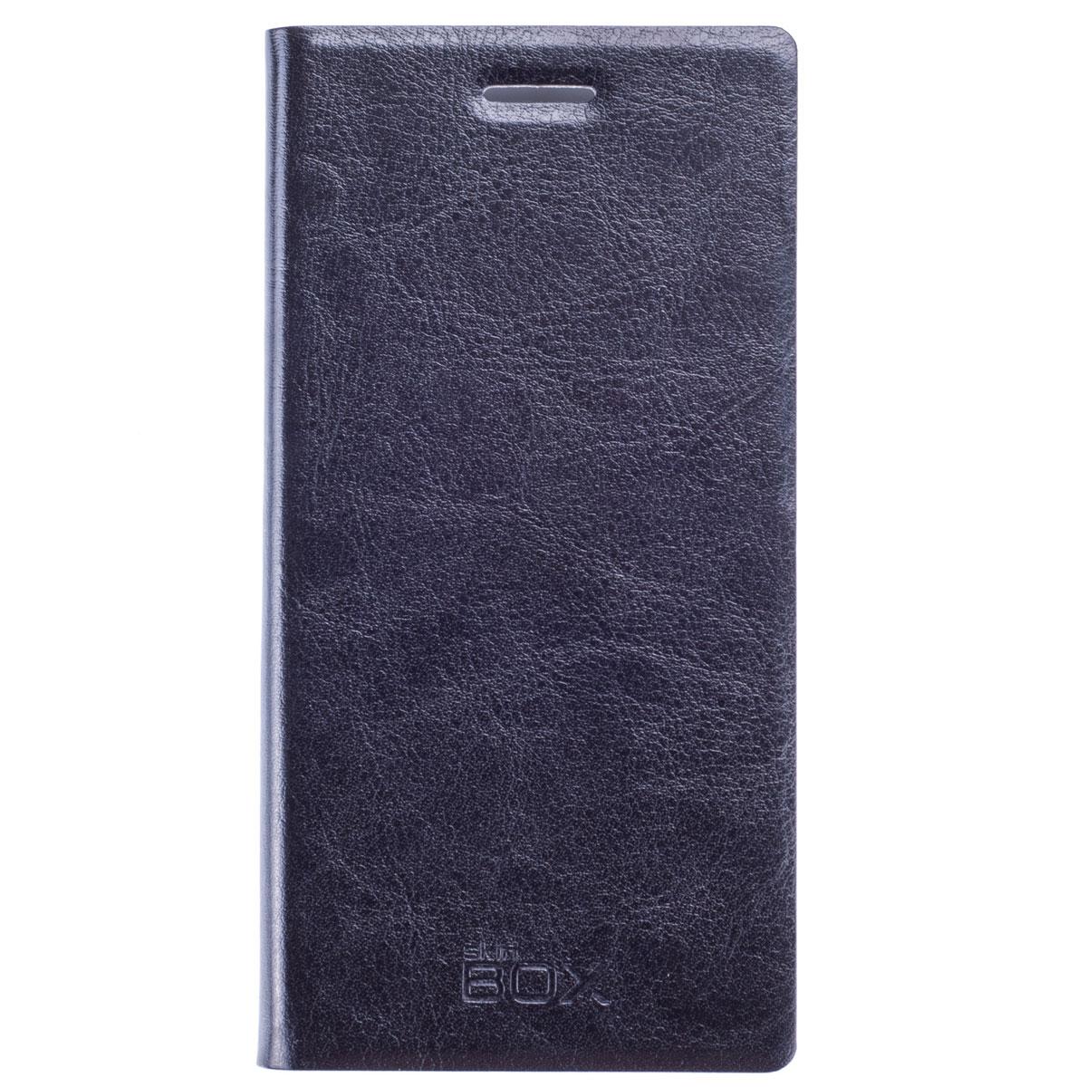 Skinbox Lux чехол для Huawei Ascend P7, BlackT-S-HAP7-003Чехол Skinbox Lux выполнен из высококачественного поликарбоната и экокожи. Он обеспечивает надежную защиту корпуса и экрана смартфона и надолго сохраняет его привлекательный внешний вид. Чехол также обеспечивает свободный доступ ко всем разъемам и клавишам устройства.