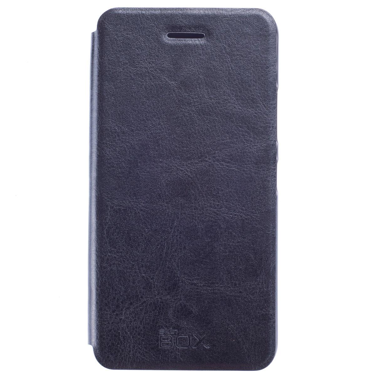 Skinbox Lux чехол для Lenovo S60, Black skinbox lux чехол для lenovo vibe s1 black