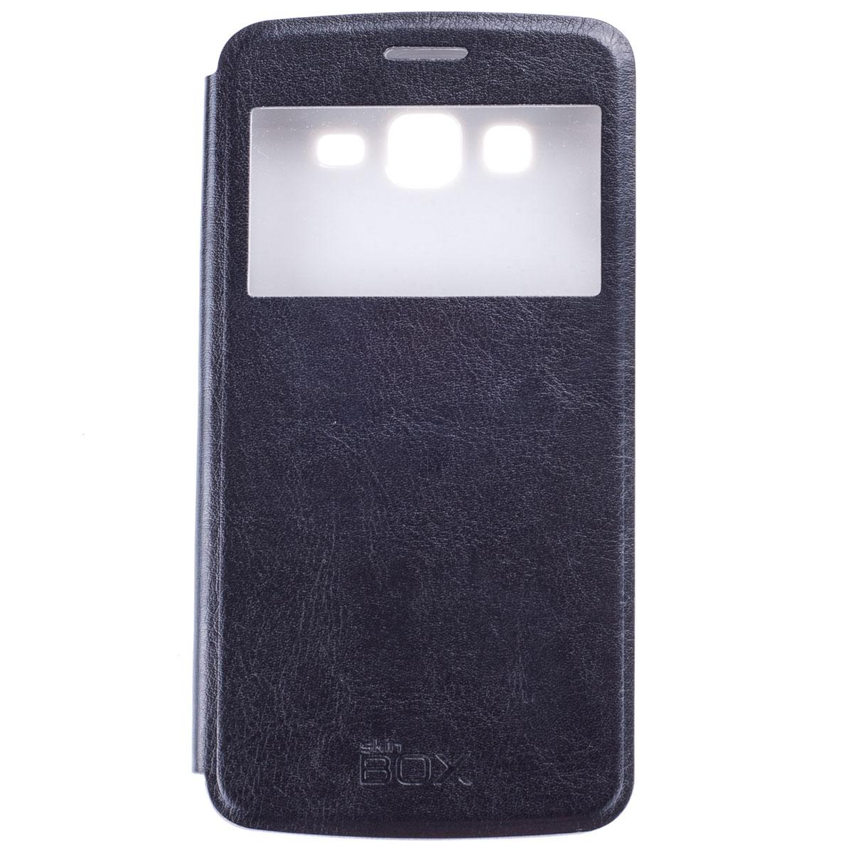 Skinbox Lux AW чехол для Samsung Galaxy Grand 2 Duos, Black skinbox lux aw чехол для samsung galaxy a7 yellow