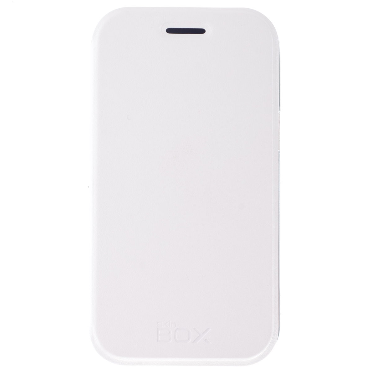 Skinbox Lux чехол для Samsung Galaxy J1 DS, WhiteT-S-SJ1-003Чехол Skinbox Lux выполнен из высококачественного поликарбоната и экокожи. Он обеспечивает надежную защиту корпуса и экрана смартфона и надолго сохраняет его привлекательный внешний вид. Чехол также обеспечивает свободный доступ ко всем разъемам и клавишам устройства.