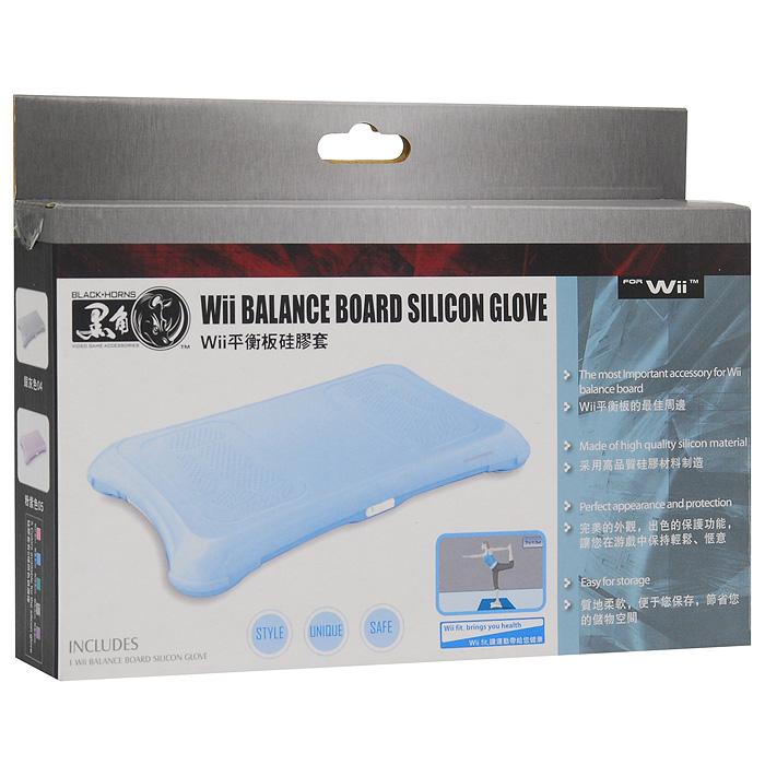 Силиконовый защитный чехол для Wii Fit Balance Board (серый)BH-Wii10401Силиконовый защитный чехол для Wii Fit Balance Board - стильная и надежная защита из высококачественного силиконового материала. Чехол надежно защитит ваш контроллер от внешних воздействий. Покрытие имеет безопасную структуру, предотвращающее скольжение и вероятность выскальзывания из рук.