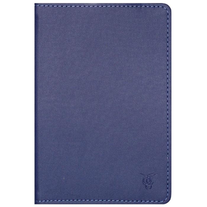 Vivacase Laconic чехол для планшетов 7, Blue (VUC-CLC07-blue)VUC-CLC07-blueVivacase Laconic- это тонкий универсальный чехол для планшетов и электронных книг с диагональю дисплея 7 дюймов. Он изготовлен из высококачественных синтетических материалов с водоотталкивающими свойствами. Внутри чехла - мягкая, приятная на ощупь подкладка и силиконовое крепление, которое прочно удерживает устройство, оставляя свободный доступ к экрану, а также кнопкам и разъемам.