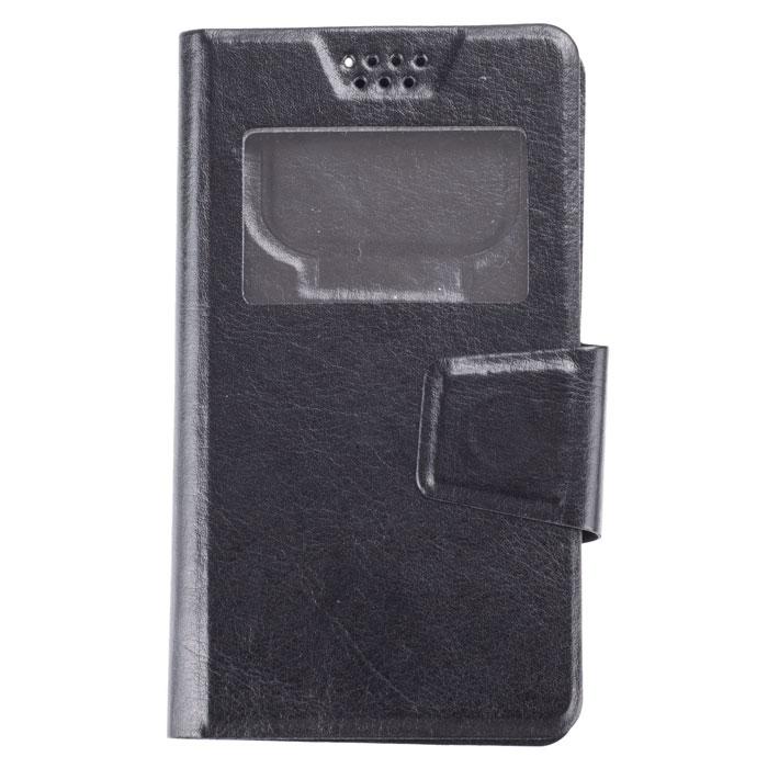 Skinbox Sticker чехол для смартфонов 4.5, BlackT-S-U4.5-001Чехол Skinbox Sticker выполнен из качественной искусственной кожи. Он обеспечивает надежную защиту корпуса и экрана смартфона и надолго сохраняет его привлекательный внешний вид. Чехол также обеспечивает свободный доступ ко всем разъемам и клавишам устройства.