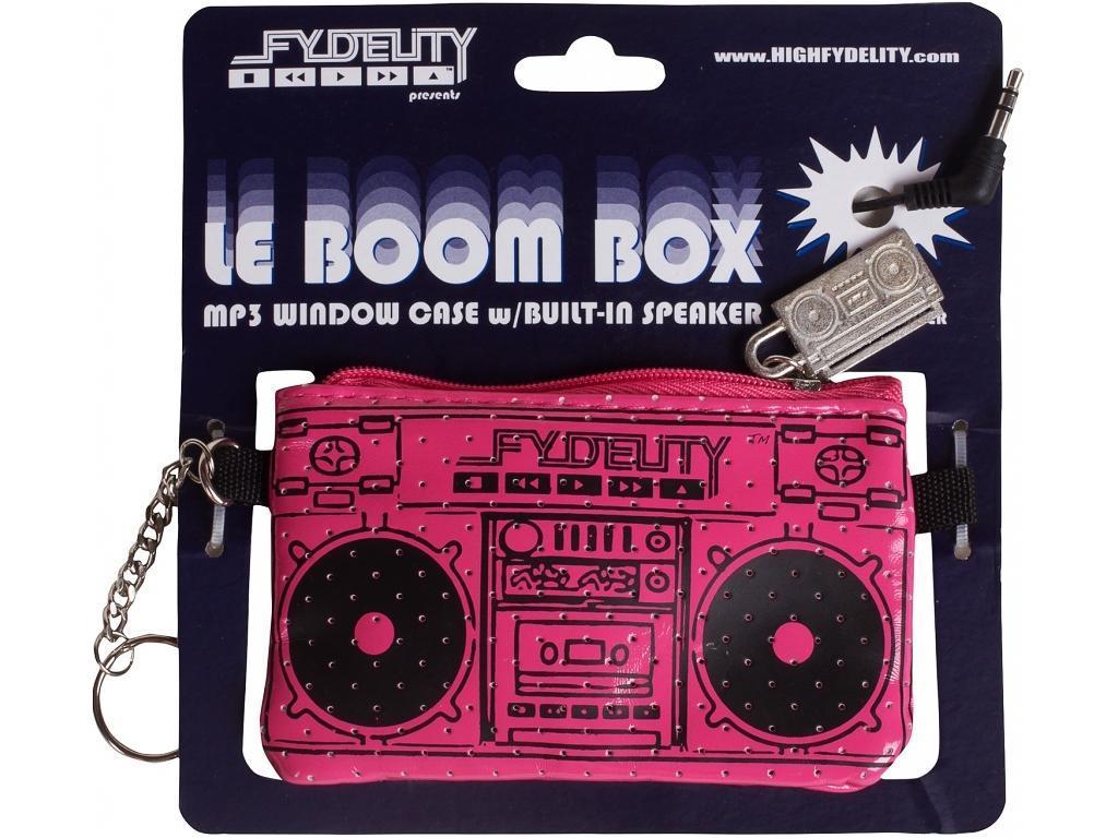 Мини Сумка FYDELITY Le Boom Box, цвет: фуксия87025Fydelity Le Boom Box представляет собой стильный компактный стерео-динамик для вашего мультимедийного девайса. Этот аксессуар произведет приятное впечатление, где бы вы не находились. Порт типа стерео джек 3,5 мм дает возможность подключать самые разнообразные гаджеты: от обыкновенных MP3-плеров до современных смартфонов. Для того, чтобы начать прослушивать музыку достаточно просто подключить девайс к сумке Le Boom Box через стерео джек. Наличие такой сумочки поднимет настроение вам и окружающим, а оригинальный дизайн только усилит интерес людей.