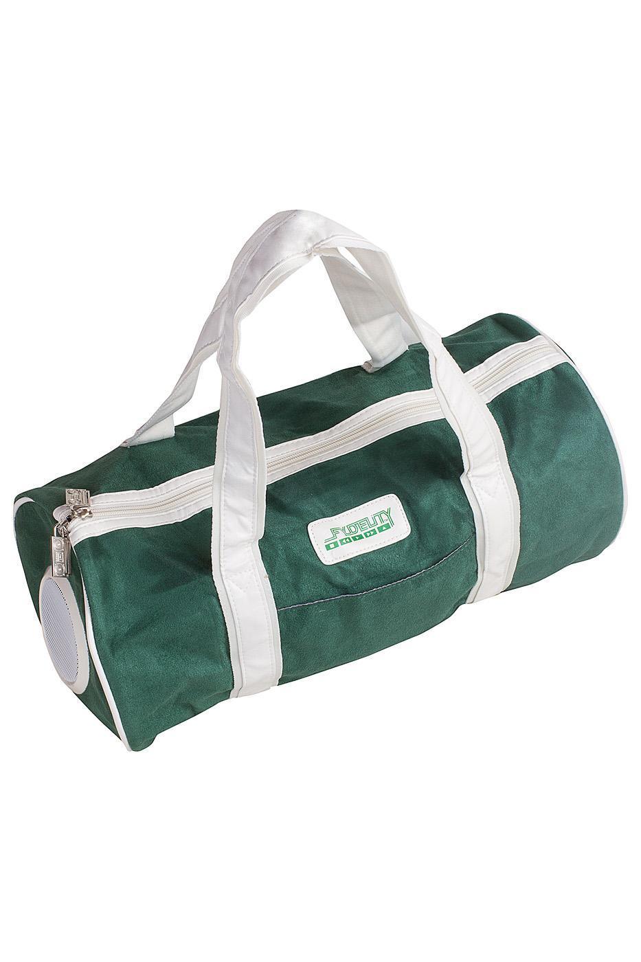Сумка спортивная FYDELITY MANIAC, 16л, цвет: зеленый93515Приятные особенности сумки для спорт зала Fydelity MANIAC: эта модель отлично подойдет как для использования в спортзале, так и для активного отдыха на природе и походов. Оригинальные сумки и рюкзаки Fydelity пользуются большой популярностью во всем мире. Иметь в своем арсенале такой аксессуар – долг каждого модника!