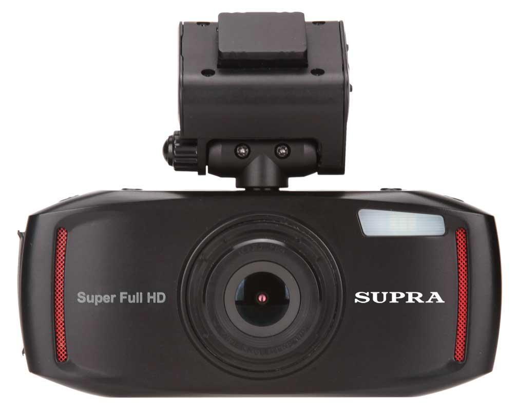 Supra SCR-73SHD видеорегистратор8887Новый видеорегистратор SUPRA SCR-73SHD использует камеру с впечатляющим углом обзора в 170 градусов. А значит, такие важные моменты, как сигналы светофора, дорожныезнаки, стартующие с обочины машины и т.п. не останутся незафиксированными регистратором. Запись ведется блоками по 2/5/10 минут на карту Micro SD емкостью до 32 Гб. Для записи беседы с инспектором есть встроенный микрофон. Для просмотра и прослушивания – LTPS дисплей размером 2,7 дюйма и динамик. Также отметим датчик движения и встроенный аккумулятор. И напоследок еще разок:видеорегистратор SUPRA SCR-73SHD снимает в супер HD разрешении 2304x1296, 30 кадров в секунду.