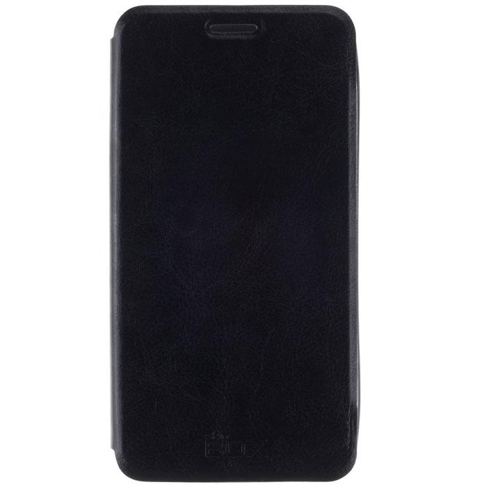 Skinbox Lux чехол для Meizu M1 Note, BlackT-S-MM1N-003Чехол Skinbox Lux для Meizu M1 Note выполнен из высококачественного поликарбоната и экокожи. Он обеспечивает надежную защиту корпуса и экрана смартфона и надолго сохраняет его привлекательный внешний вид. Чехол также обеспечивает свободный доступ ко всем разъемам и клавишам устройства.