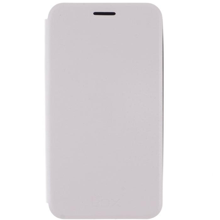 Skinbox Lux чехол для Meizu MX4, WhiteT-S-MMX4-003Чехол Skinbox Lux для Meizu MX4 выполнен из высококачественного поликарбоната и экокожи. Он обеспечивает надежную защиту корпуса и экрана смартфона и надолго сохраняет его привлекательный внешний вид. Чехол также обеспечивает свободный доступ ко всем разъемам и клавишам устройства.