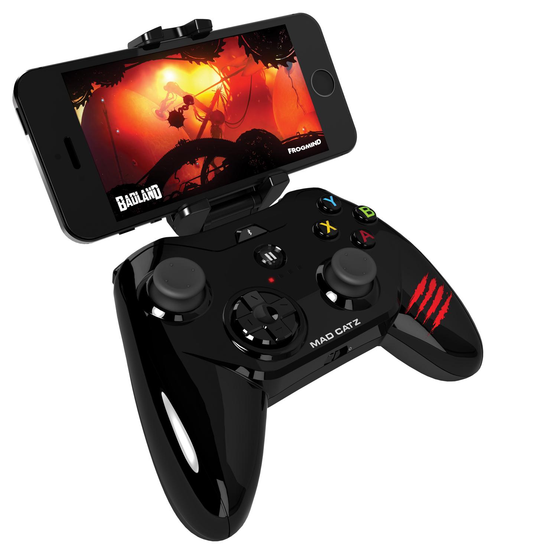 Mad Catz Micro C.T.R.L.i, Gloss Black беспроводной геймпад для iPhone и iPad