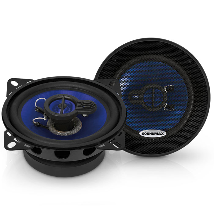 Soundmax SM-CSE403 колонки автомобильныеSM-CSE403Акустическая система Soundmax SM-CSE403 предназначена для установки в штатные места автомобиля. Штатная акустическая система для многих автомобилей является опцией, причем обычно неоправданно дорогостоящей. Поэтому установка брендовой акустики взамен штатной иногда не только выгодна экономически, но и позволяет добиться более качественного звучания. Модель Soundmax SM-CSE403 трехполосная коаксиальная, кроссовер встроенный, соответственно дополнительная настройка не требуется и акустическая система готова к работе сразу после монтажа.
