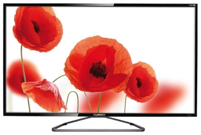 Telefunken TF-LED39S35T2, Black телевизорTF-LED39S35T2Telefunken TF-LED39S35T2 black – это недорогой, но стильный и многофункциональный телевизор, который удивит вас своим качеством и прекрасным изображением. Он станет идеальным выбором для тех, кому необходим простой, но современный телевизор без всяких излишеств. За скромную, как для 38.5-дюймового телевизора, сумму, вы получите телевидение высокого разрешения, дисплей со светодиодной повесткой и большое количество подключений, делающих из этой модели настоящий мультимедийный центр.