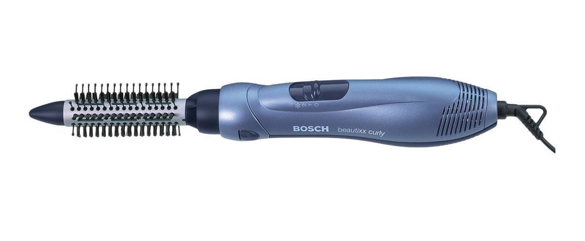 Фен-щетка Bosch PHA 2300PHA2300 Мощность: 700 Вт Насадки: 2 насадки-щетки, насадка-концентратор Количество температурных режимов: 2 (350/700 Вт) Длина сетевого шнура: 2 м