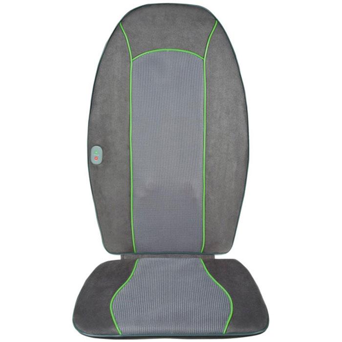 Ecomed Сиденье массажное МС-90E, зеленая полоса00001168,23306Массажная накидка шиатсу Medisana Ecomed MC-90E обеспечит прекрасный расслабляющий массаж! Массажер снабжен четырьмя вращающимися массажными элементами, которые повторяют движения рук профессионального массажиста, делающего массаж шиатсу. Также можно включить вибрацию сиденья для массажа ягодиц.Используя эту массажную накидку, вы можете выбрать подогрев, который усилит массажный эффект. Приспособление надежно защищено от перегрева. Управление посредством встроенного блока. Автоматическое отключение через пятнадцать минут. Изделие произведено из легко очищаемого материала. Применяйте данное устройство для глубокого массажа! УВАЖАЕМЫЕ КЛИЕНТЫ! Обращаем ваше внимание на тот факт, что массажная накидка не предназначена для автомобильных сидений и не оборудована переходником для работы от прикуривателя.
