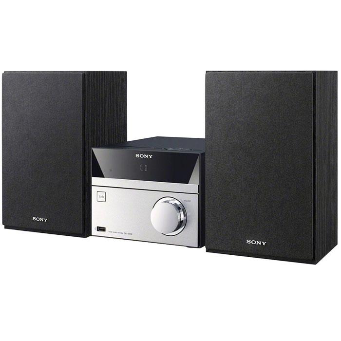 Sony CMT-S20 микросистемаCMTS20.RU1Аудиосистема Sony CMT-S20 поддержкой CD, FM-радио и портами USB.С помощью USB-порта или аудиовхода к аудиосистеме можно подключить смартфон, ноутбук, MP3-плеер или карту памяти с любимыми песнями.2 динамика мощностью 5 Вт обеспечивают точное и насыщенное звучание каждой ноты ваших любимых песен.С помощью цифрового DAB-радио вы можете с легкостью настроиться на множество радиостанций.Элегантная и компактная аудиосистема идеально подходит для небольшого помещения, например, кухни или кабинета.С функцией Bass Boost Вам обеспечено резонирующее и насыщенное звучание басов в музыке любого жанра от классического фанка до дабстепа.Подзарядите свой смартфон или цифровой музыкальный плеер, подключив его с помощью USB-кабеля.С мощью удобного пульта дистанционного управления можно выбрать нужную композицию или регулировать громкость, не вставая с кресла. FM радиопиемникс поддержкой RDSДиапазон FM: 87.5 - 108 МГц FM радиопиемникс поддержкой RDSДиапазон FM: 87.5 - 108 МГц