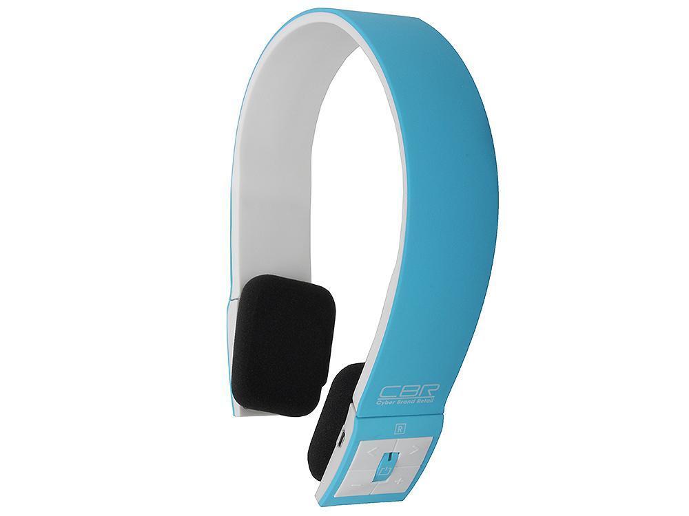 CBR CHP 636 Bt, Blue Bluetooth-гарнитураCHP 636Беспроводные наушники CBR CHP 636Bt – это сочетание стиля, современных технологий и функциональности.Беспроводная технология Bluetooth подарит наслаждение любимой музыкой и общением без проводов, а вынесенные кнопки управления треками и громкостью позволят управлять мультимедийными функциями непосредственно через наушники.Те, кто любят всегда быть на связи, оценят наличие встроенного микрофона и системы переадресации звонков с мобильного телефона на наушники. Эта модель наушников позволит совместить активный образ жизни, прослушивание музыки и общение по телефону. Работа, развлечения, общение станут еще интереснее с СBR СНР 636Bt.