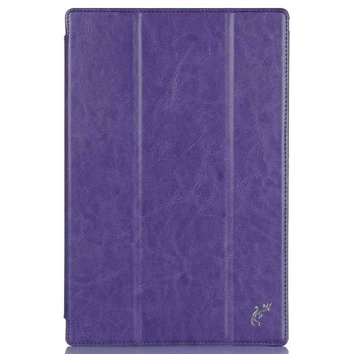 G-Case Slim Premium чехол для Sony Xperia Tablet Z4, PurpleGG-596Обладатели планшетов знают, как важно беречь устройство от негативных внешних и прочих механических воздействий. В противном случае можно довольно быстро расстаться с дорогостоящим гаджетом. Во избежание неприятных сюрпризов достаточно купить чехол G-CaseSlim Premium для Sony Xperia Tablet Z4, чтобы наслаждаться своим смартфоном дома, на досуге или в дороге. Чехол тщательно продуман разработчиками для обеспечения максимальной защиты электронного устройства от пыли, влаги, грязи, ударов, падений, царапин и потертостей.