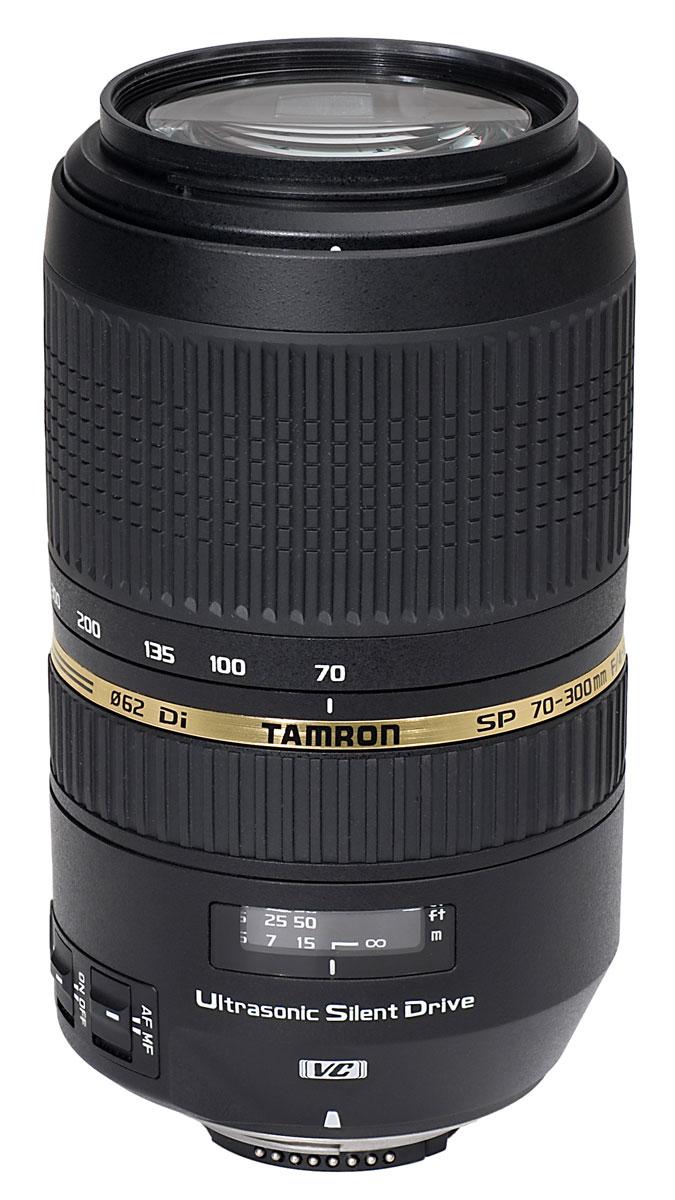 Tamron AF SP 70-300/4.0-5.6 DI VC USD Nikon объектив для фотоаппарата tamron объектив sp af 90мм f 2 8 di макро vc usd для nikon f017n