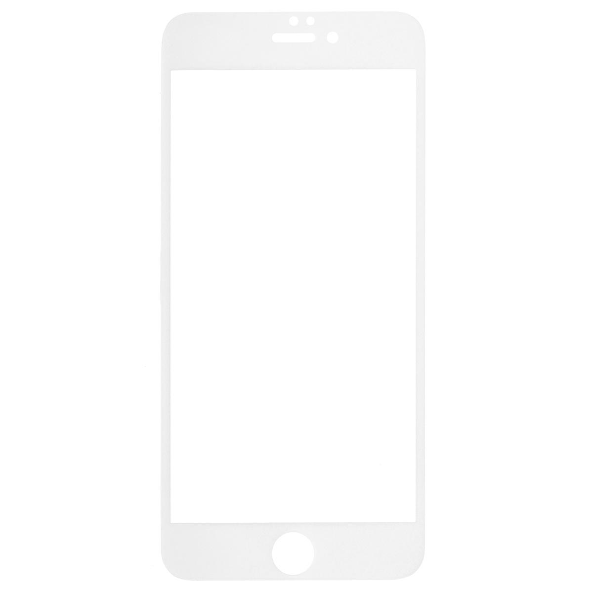 Highscreen защитное стекло для iPhone 6 Plus, белая рамка22887Защитное стекло Highscreen дляiPhone 6 Plus - надежная защита экрана смартфона от грязи, пыли, отпечатков пальцев и царапин. Стекло изготовлено точно по размеру экрана, отличается кристальной прозрачностью и имеет все необходимые прорези.